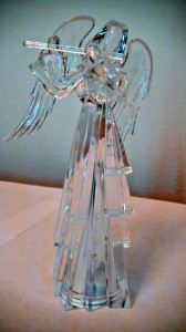Clear color changing angel