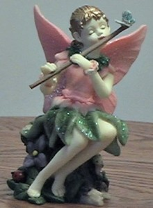 Fairy with Pink Wings