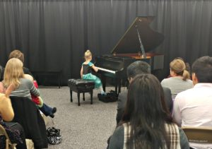 Annelise piano recital
