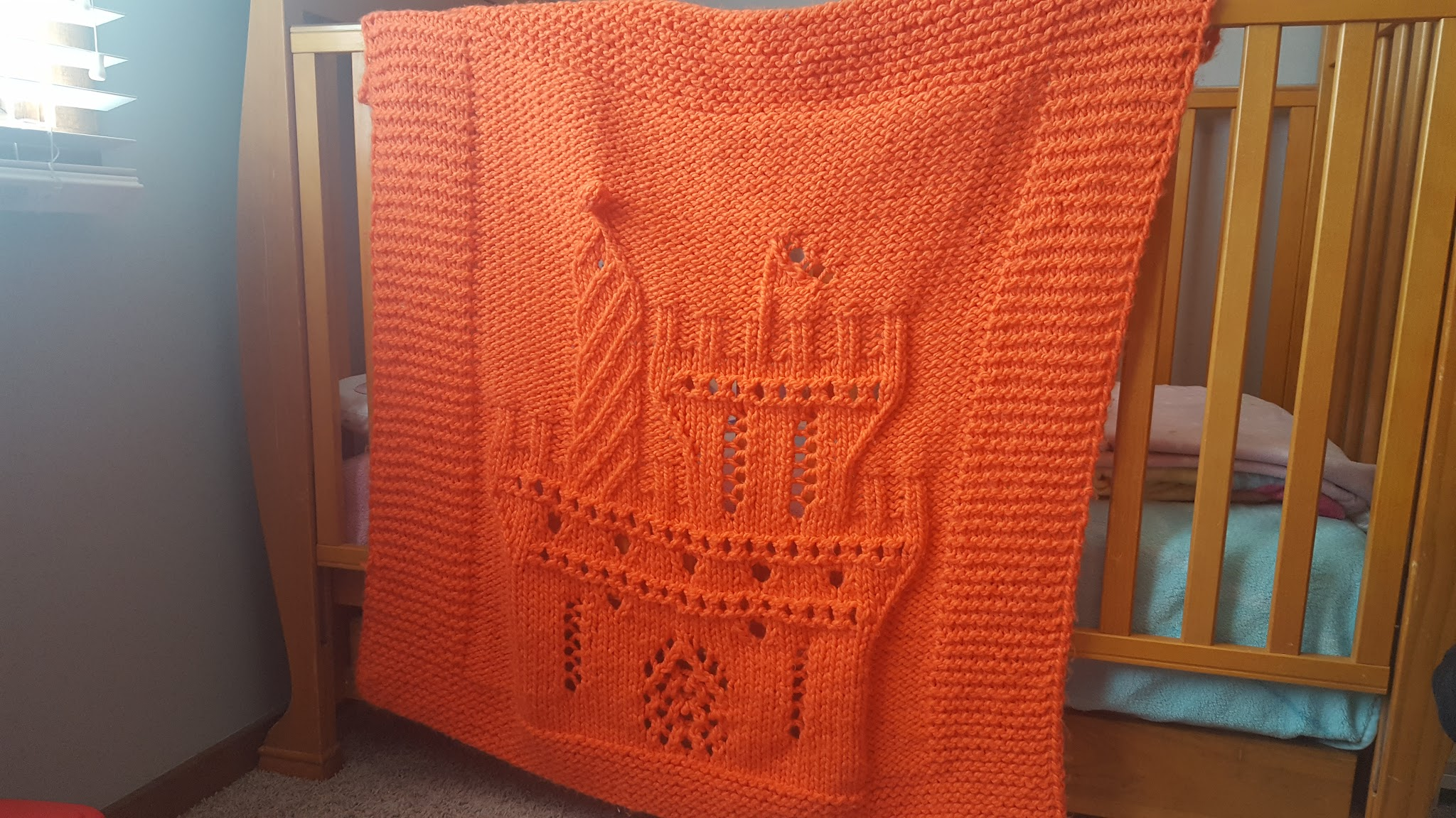 orange castle afghan